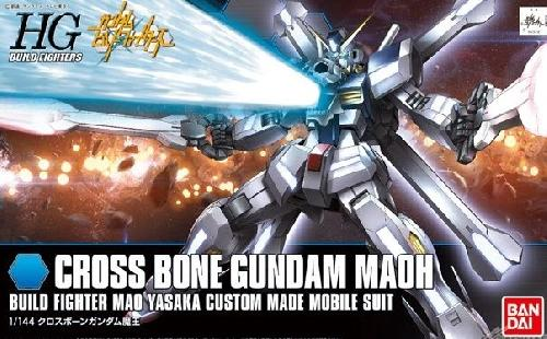 #14 HGBF Crossbone Gundam Maoh Model Kit, Gundam Models Item Number BAN189510