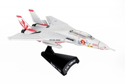 "F-14 Tomcat VF-111 Sundowners ""Miss Molly"" (1:160) by Postage Stamp Diecast Planes item number: PS5383-4"