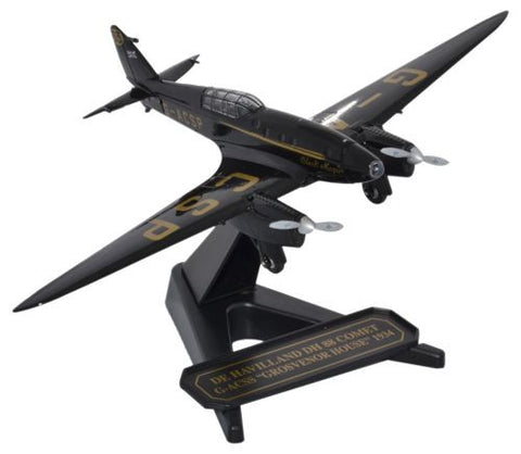 "de Havilland DH.88 Comet - G-ACSP, ""Black Magic,"" 1934 (1:72), Oxford Diecast 1:72 Scale Models, 72COM001"