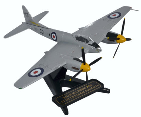de Havilland DH.103 Sea Hornet F.Mk.20, TT197, 728 NAS, Royal Navy Fleet Air Arm, Hal Far, Malta, 1953, Oxford Diecast 1:72 Scale Models Item Number 72HOR006