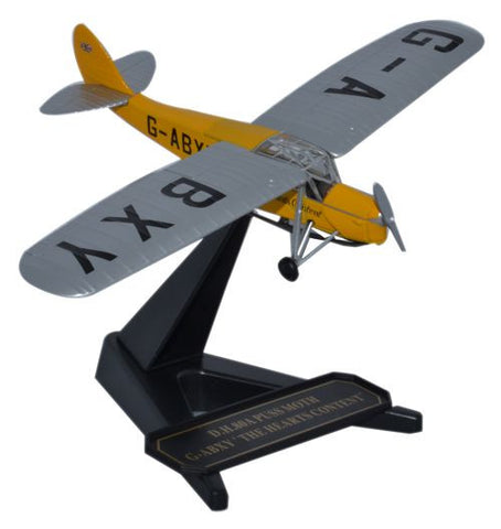 "de Havilland DH.80 Puss Moth, ""The Hearts Content,"" G-ABXY (1:72), Oxford Diecast 1:72 Scale Models Item Number 72PM005"