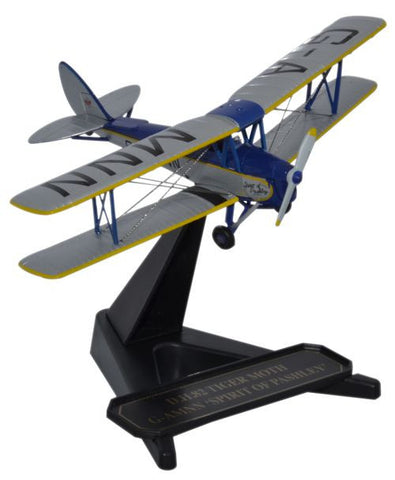 "de Havilland DH.82A Tiger Moth, ""Spirit of Pashley,"" G-AMNN (1:72), Oxford Diecast 1:72 Scale Models Item Number 72TM007"