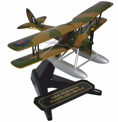 de Havilland DH.82A Tiger Moth Floatplane L5894, Royal Air Force (1:72), Oxford Diecast 1:72 Scale Models Item Number 72TM010