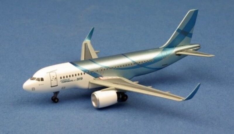 Airbus A319 Corporate Jet (1:400), DragonWings 400 Diecast Airliners Item Number DRW56419
