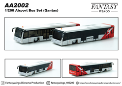 Airport Bus Qantas (1:200)