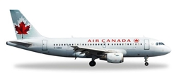 Air Canada A319 C-GBIA (1:500), Herpa 1:500 Scale Diecast Airliners Item Number HE528795