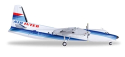 Air Inter F-27 F-BPNE (1:200), Herpa 1:200 Scale Diecast Airliners Item Number HE556965