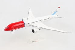 "Norwegian 787-9 ""Babe Ruth"" G-CKMU (1:200) - , Herpa 1:200 Scale Diecast Airliners Item Number HE559140"