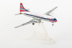 Braniff International Airways Convair CV-340 (1:200), Herpa 1:200 Scale Diecast Airliners, Item Number HE559621