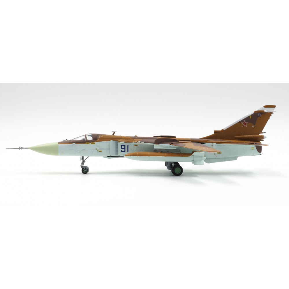 Su-24MK Fencer-D Diecast Model, Russian Air Force, Blue 91, Russia, Clean Finish (1:72)