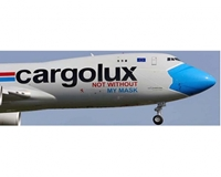 "CargoLux B747-8F ""Not Without My Mask"", Interactive Series LX-VCF (1:200)"