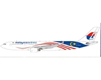 "Malaysia Airlines Airbus A330-200 9M-MTZ ""Negaraku Livery"" (1:200)"